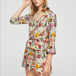 Colorful never worn romper